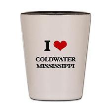 I love Coldwater Mississippi Shot Glass