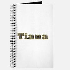 Tiana Gold Diamond Bling Journal