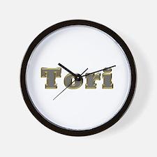 Tori Gold Diamond Bling Wall Clock