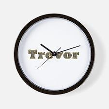 Trevor Gold Diamond Bling Wall Clock