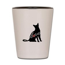 Abyssinian Love Shot Glass
