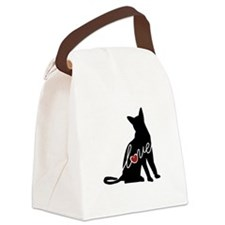 Abyssinian Love Canvas Lunch Bag