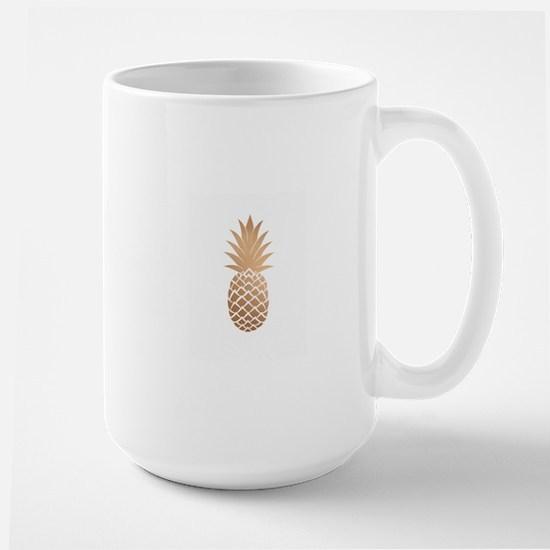 Gold pineapple Mugs