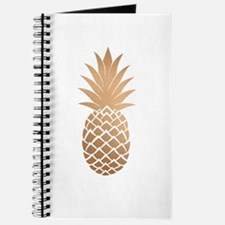 Gold pineapple Journal