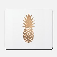 Gold pineapple Mousepad