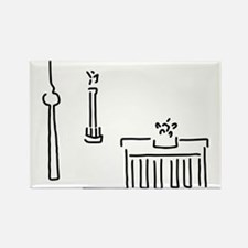 Berlin gate television tower victory colum Magnets