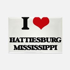 I love Hattiesburg Mississippi Magnets