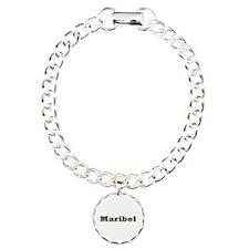 Maribel Gold Diamond Bling Bracelet