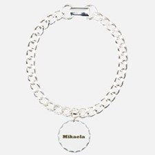 Mikaela Gold Diamond Bling Bracelet