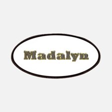 Madalyn Gold Diamond Bling Patch