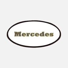 Mercedes Gold Diamond Bling Patch
