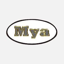 Mya Gold Diamond Bling Patch
