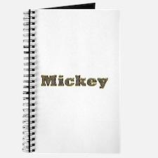 Mickey Gold Diamond Bling Journal