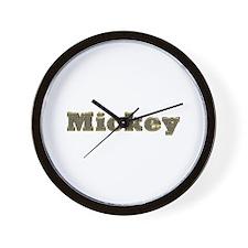 Mickey Gold Diamond Bling Wall Clock