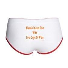 Matzah & Wine Passover Women's Boy Brief