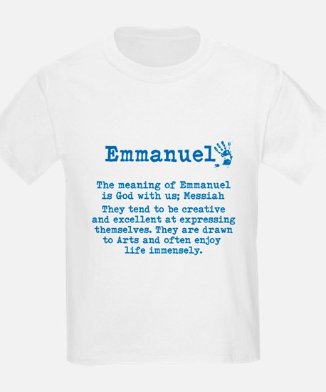 The Meaning of Emmanuel T-Shirt