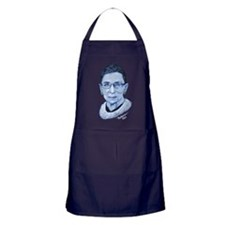 Notorious RBG II Apron (dark)