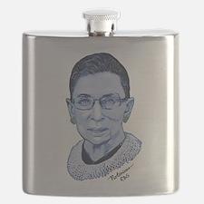 Notorious RBG II Flask