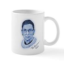 Notorious RBG II Small Mug