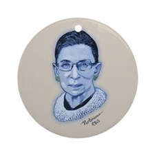Notorious RBG II Ornament (Round)