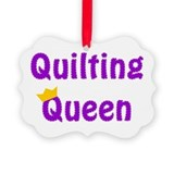 Quilt queen Ornaments