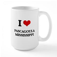 I love Pascagoula Mississippi Mugs
