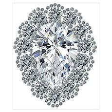 Diamond Pear Poster