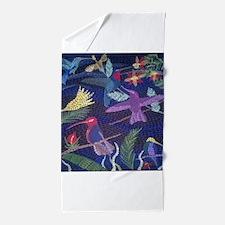 Hummingbird Mosaic Beach Towel