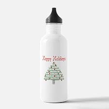 Genealogy NumbersTree. Water Bottle