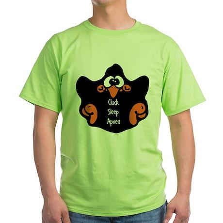 Sleep Apnea Green T-Shirt