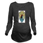 Cochise County Sheri Long Sleeve Maternity T-Shirt