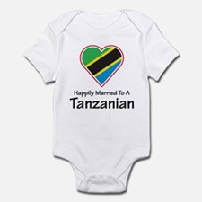 Happily Married Tanzanian Infant Bodysuit