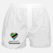 Happily Married Tanzanian Boxer Shorts