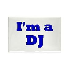 DJ Diddles Rectangle Magnet