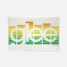 Glee Bars Rectangle Magnet