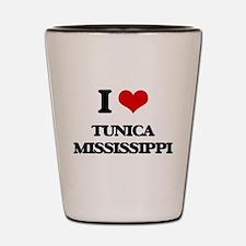 I love Tunica Mississippi Shot Glass