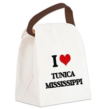 I love Tunica Mississippi Canvas Lunch Bag