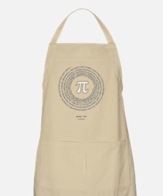 Pi day fashion theme Apron