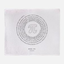 Pi day fashion theme Throw Blanket