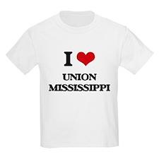 I love Union Mississippi T-Shirt