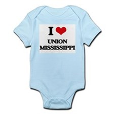 I love Union Mississippi Body Suit