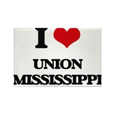 I love Union Mississippi Magnets