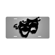 Comedy and Tragedy Theater Aluminum License Plate