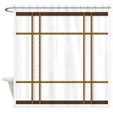 Funny Asian Shower Curtain