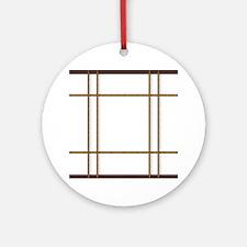 Cute Japanese Round Ornament