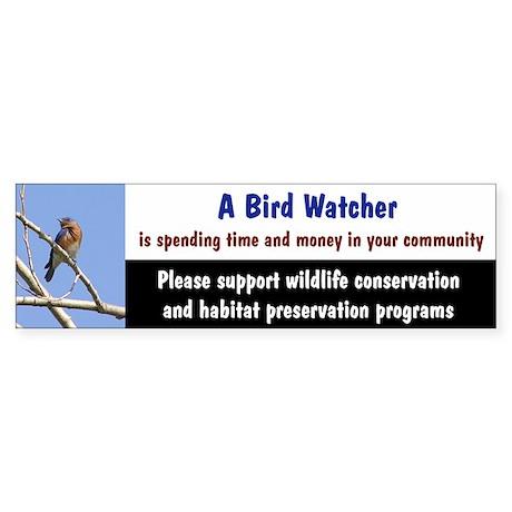 Birder Bumper Sticker