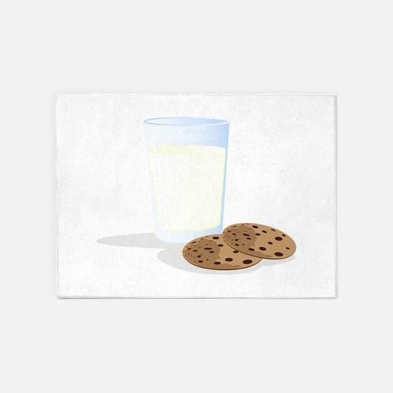 Milk & Cookies 5'x7'Area Rug
