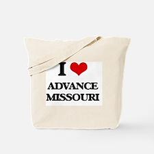 I love Advance Missouri Tote Bag