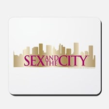Sex and the City Skyline Mousepad