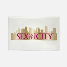 Sex and the City Skyline Rectangle Magnet